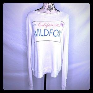 RARE Wildfox license plate jumper